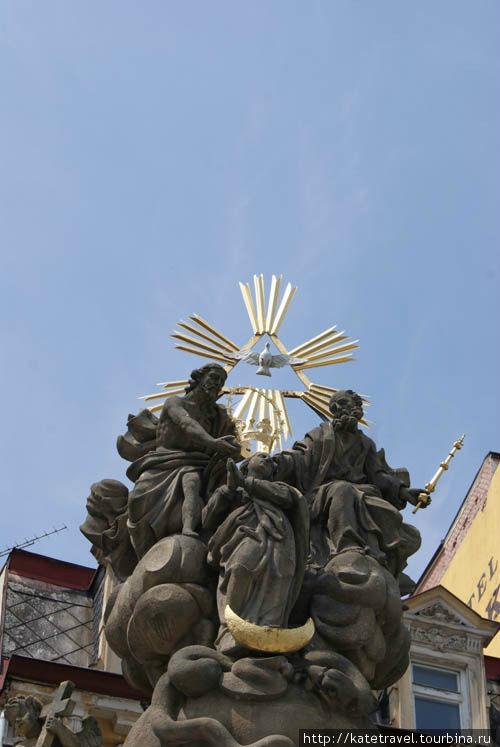 Барочный столп Святой Тро
