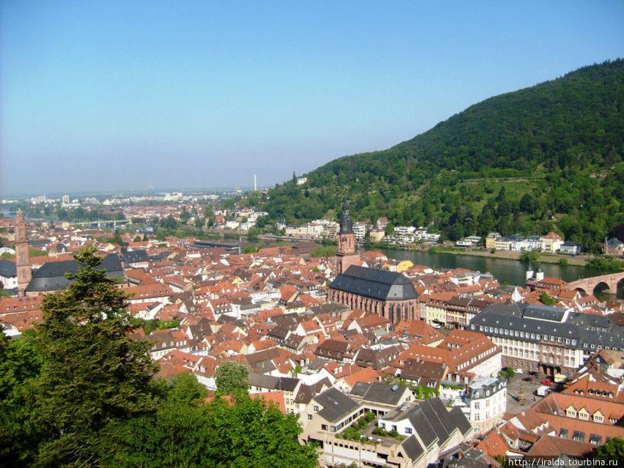Хайдельберг — романтичный немецкий город у подножия Кенигштуля