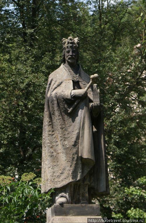 Памятник Карлу IV (1956)