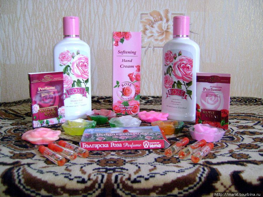 Розовая продукция