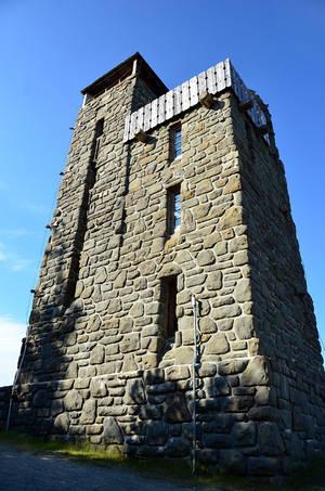 Смотровая башня на вершине Конституции, построенная во времена Рузвельта.