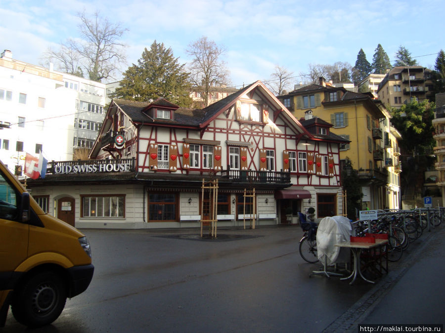 Люцерн. Самое старое здание города.