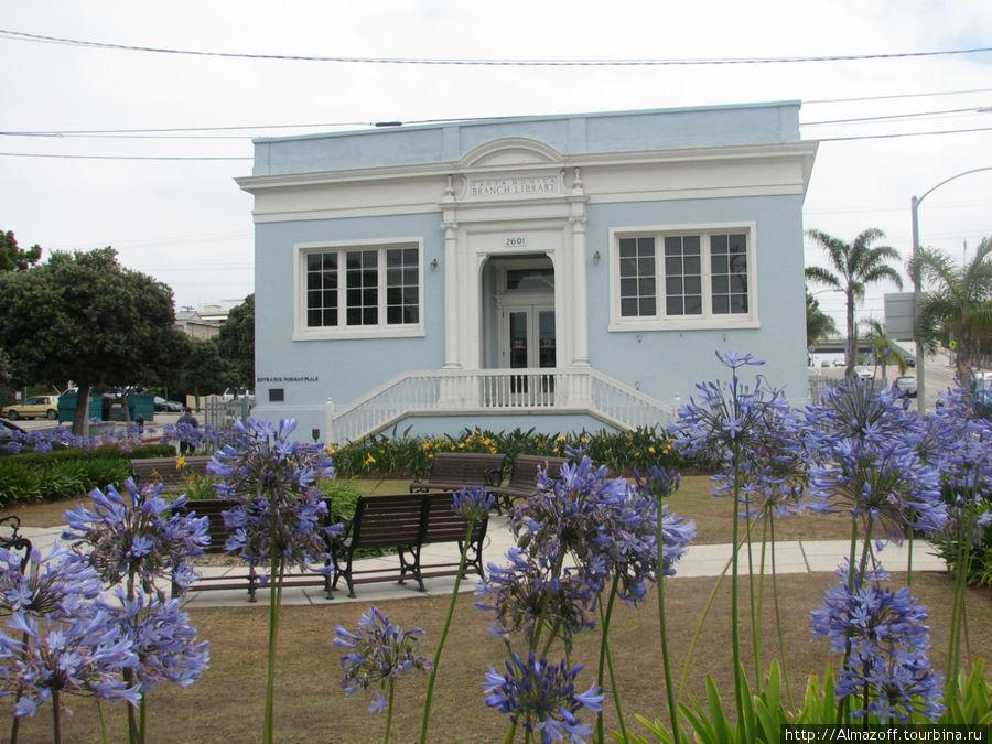 муниципальная библиотека Санта-Моники