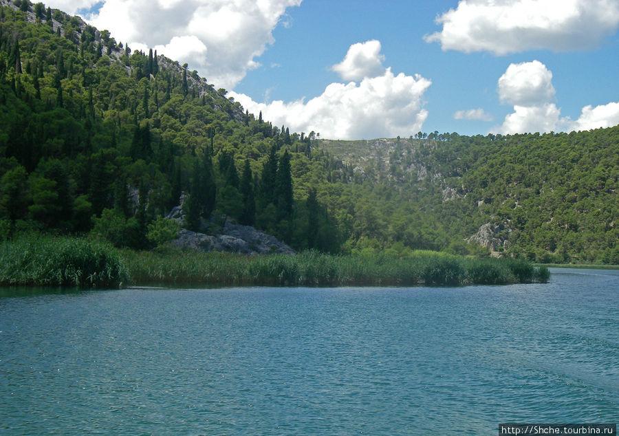Национальный парк Крка. Водопады, возможность искупаться... Национальный парк Крка, Хорватия