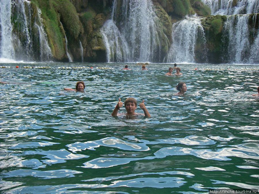 Дальше лепота, приятная прохладная вода, особенно если в жару