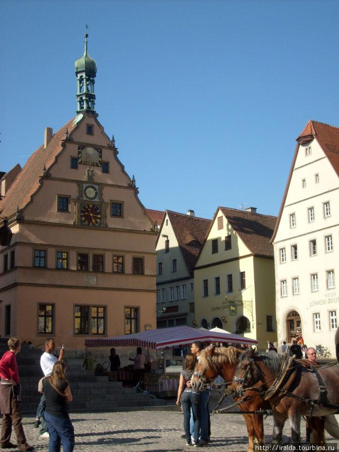 Ратуша на Рыночной площад