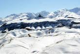 Предгорья Копетдага в снегу