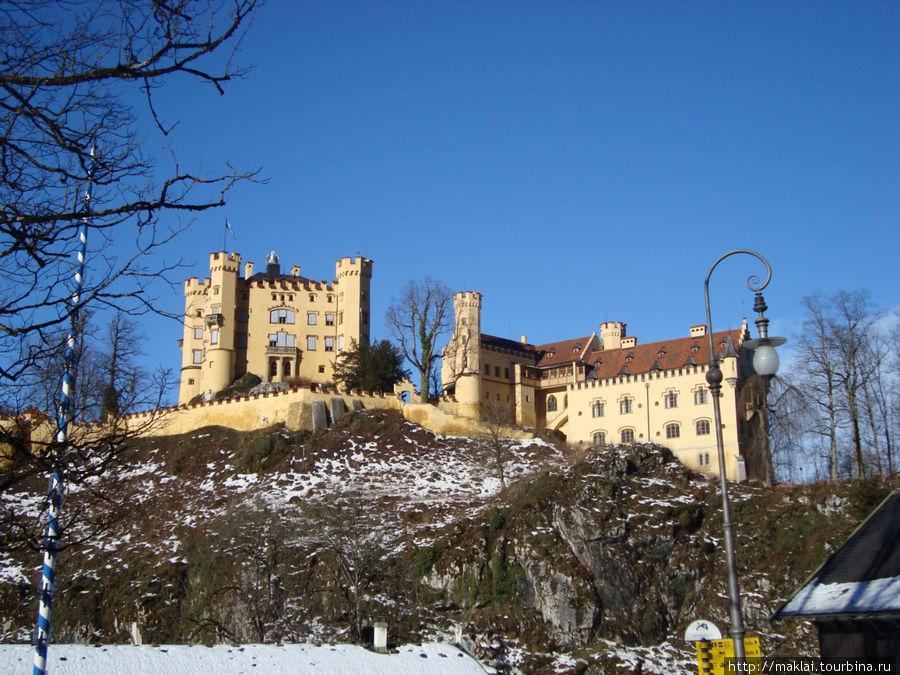 Замок Хоэншвангау.