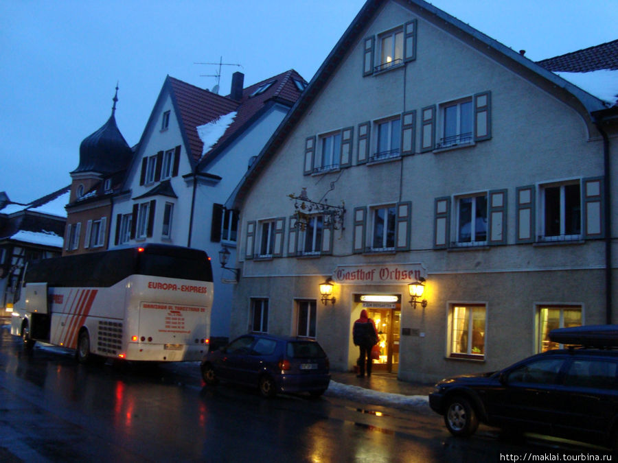 Баварский городок Кислиг.