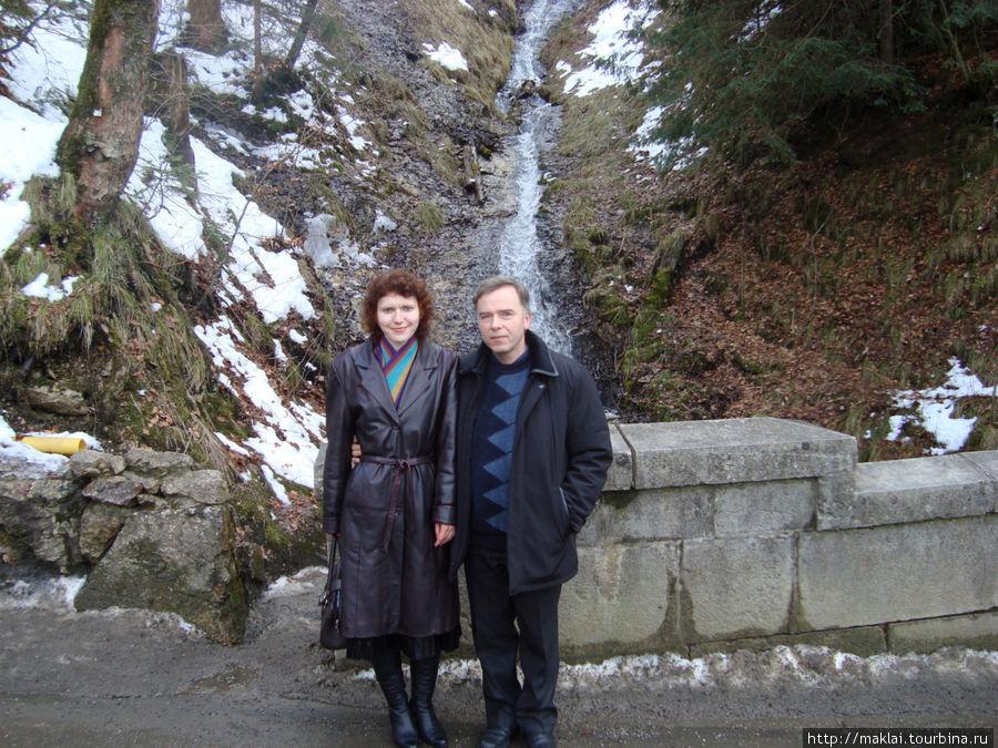 По пути к замку Нойшванштайн.