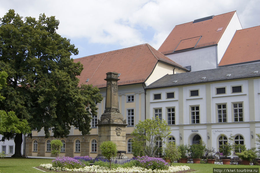 Старое здание театра, в котором работал Е.Т.А. Гофман