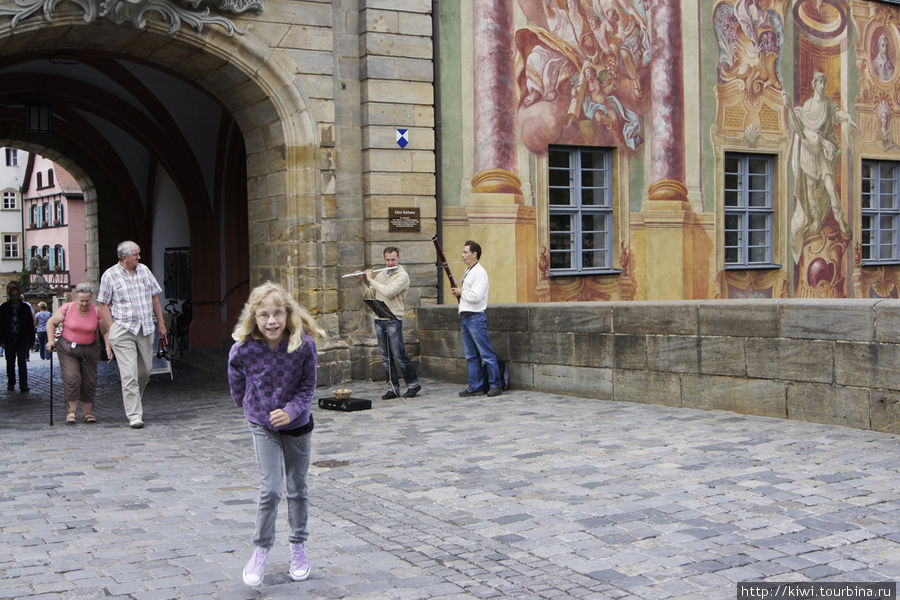 Музыканты у Старой ратуши