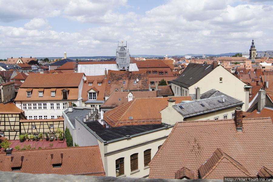 Вид с террасы Новой резиденции