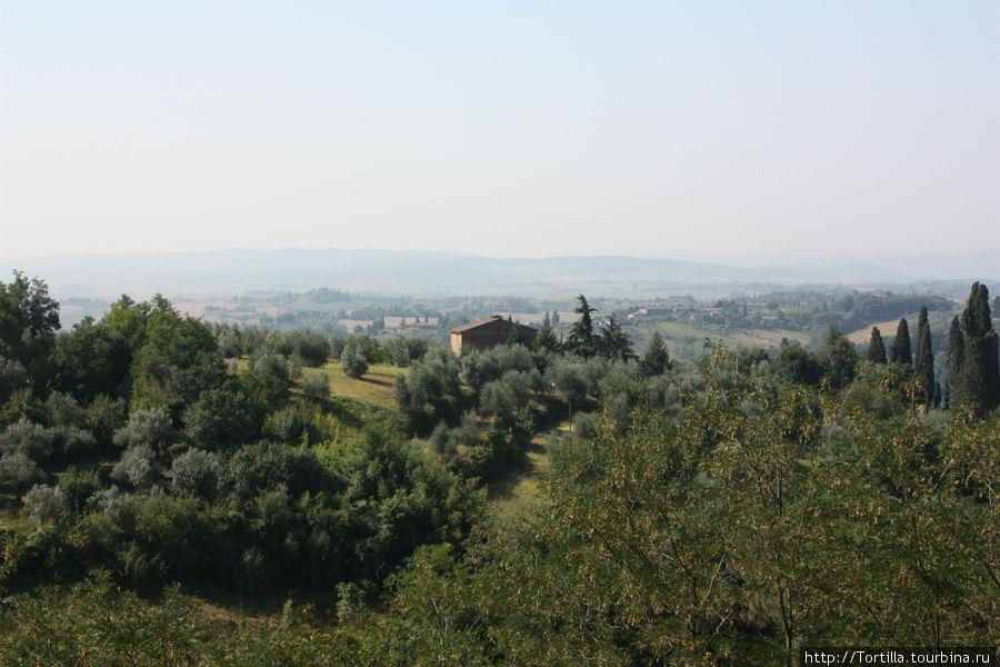 Тоскана — на пороге Сиены