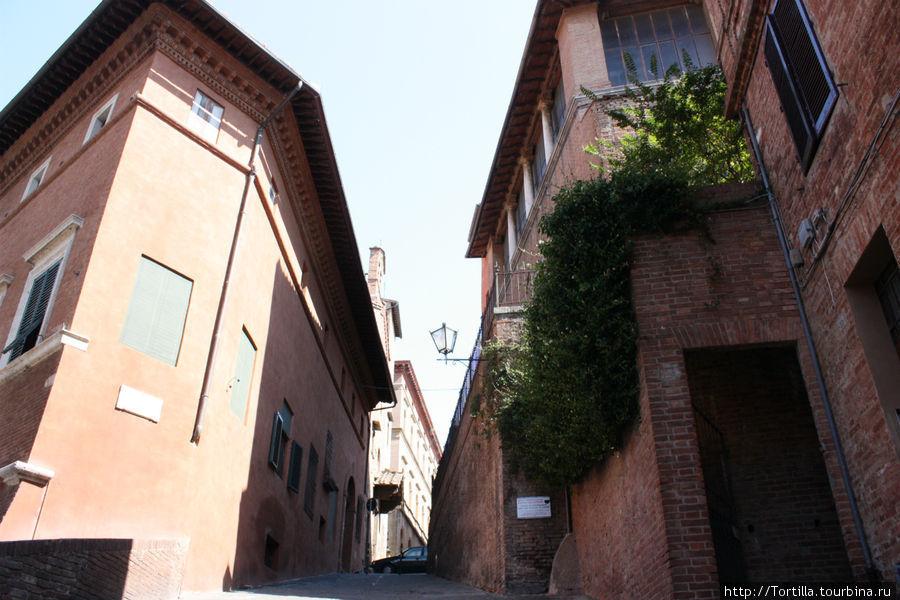 улочки Сиены