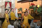 Фламенко в уличном кафе