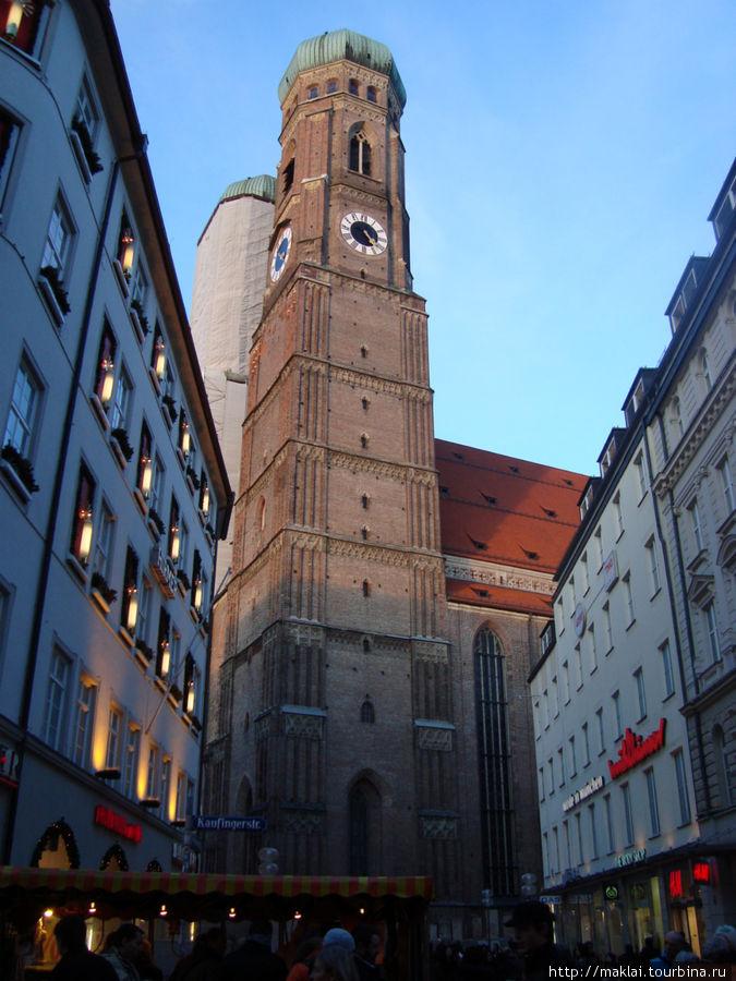 Мюнхен. Собор Фраукенкирх