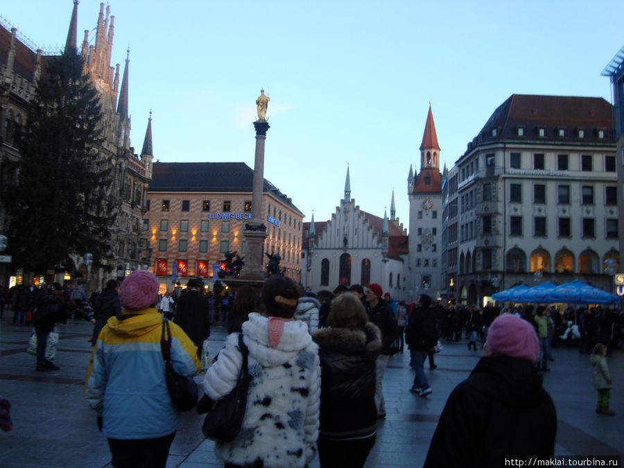 Мюнхен. Мариенплац.