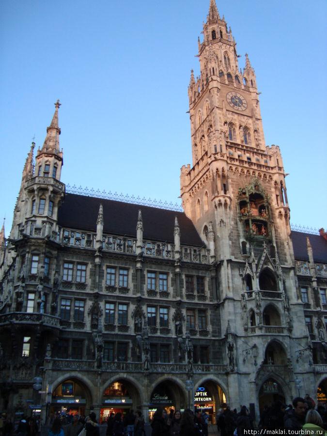 Мюнхен. Новая городская ратуша.