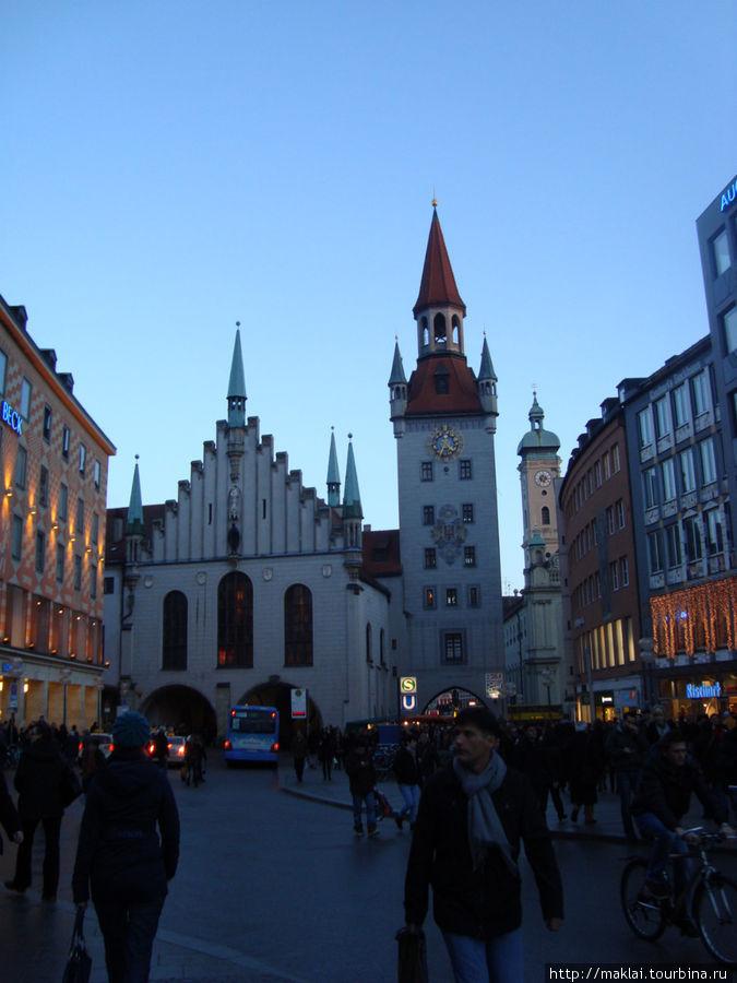 Мюнхен. Старая ратуша.