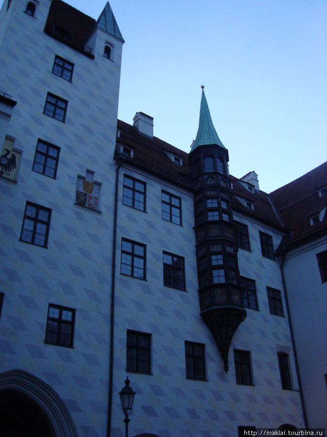 Мюнхен. Старый Двор.