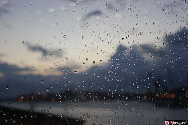 Дождь в мальтийском порту