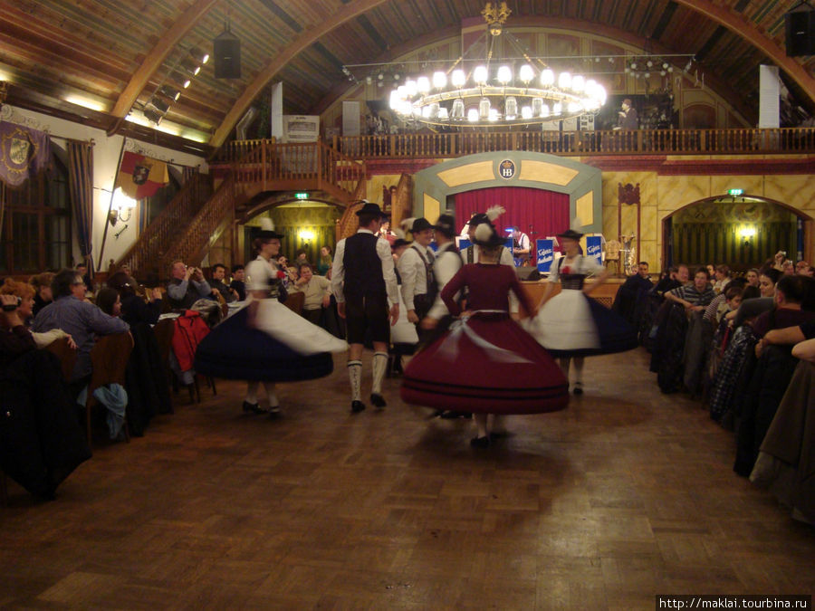 Баварский танец.