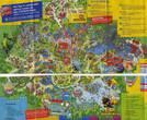 План парка — пришлось отсканировать кусками, он очень большой