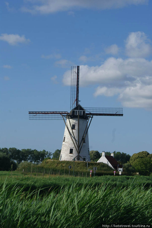 Ветряная мельница Шелле