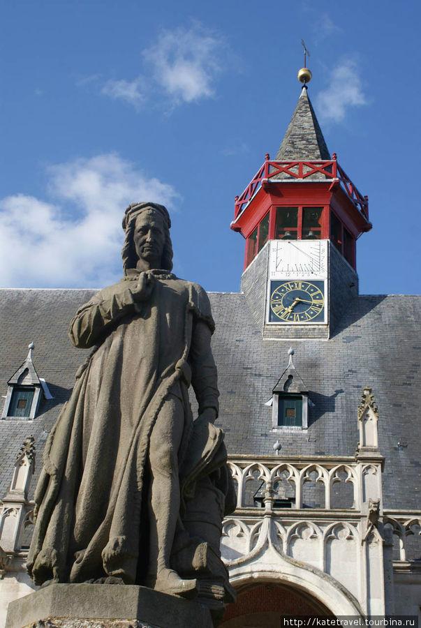 Памятник Якобу ван Маерла