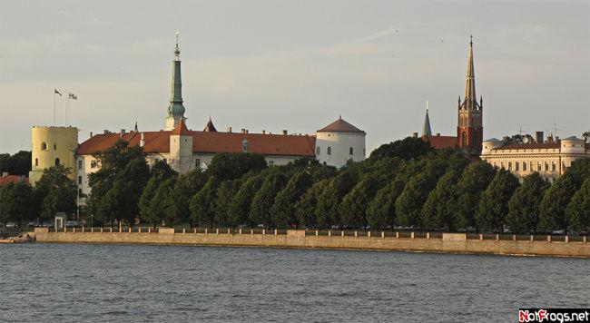 Вид на часть Старого города