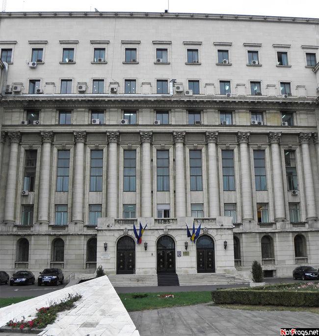 С этого балкона Чаушеску говорил свою последнюю речь