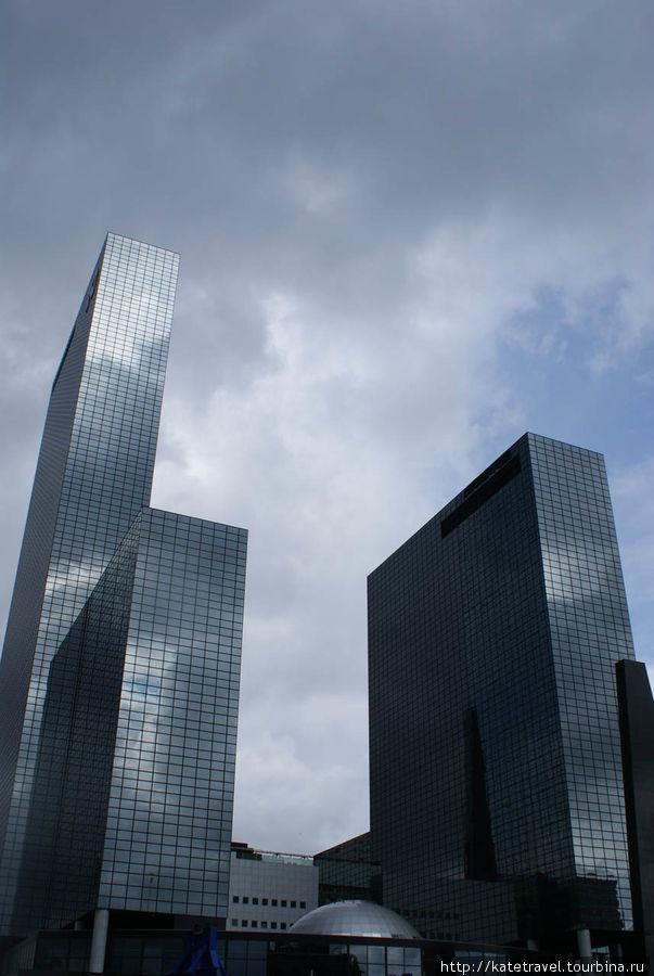 Роттердам-город небоскреб
