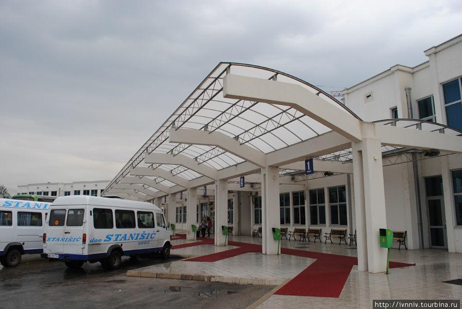 автостанция Никшич