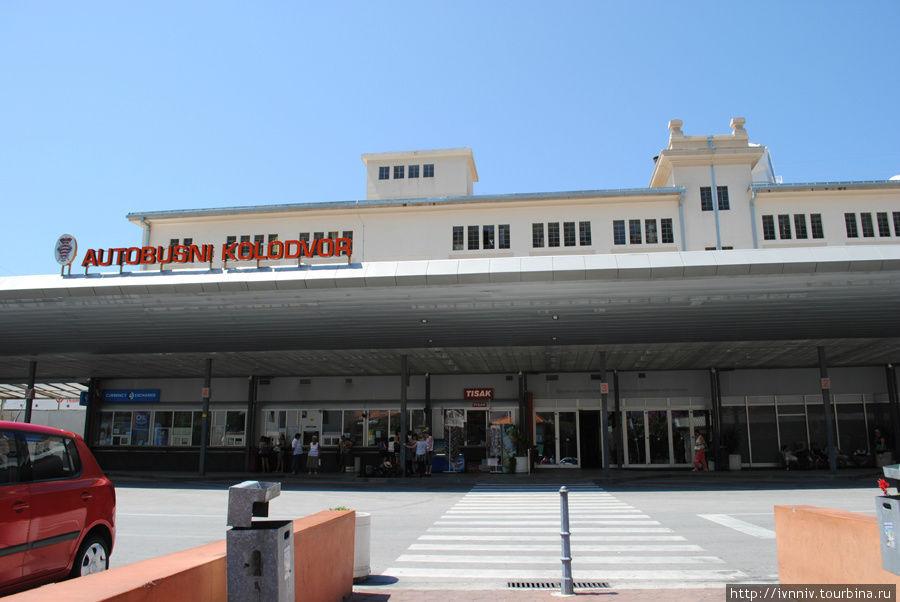 автостанция в Дубровнике