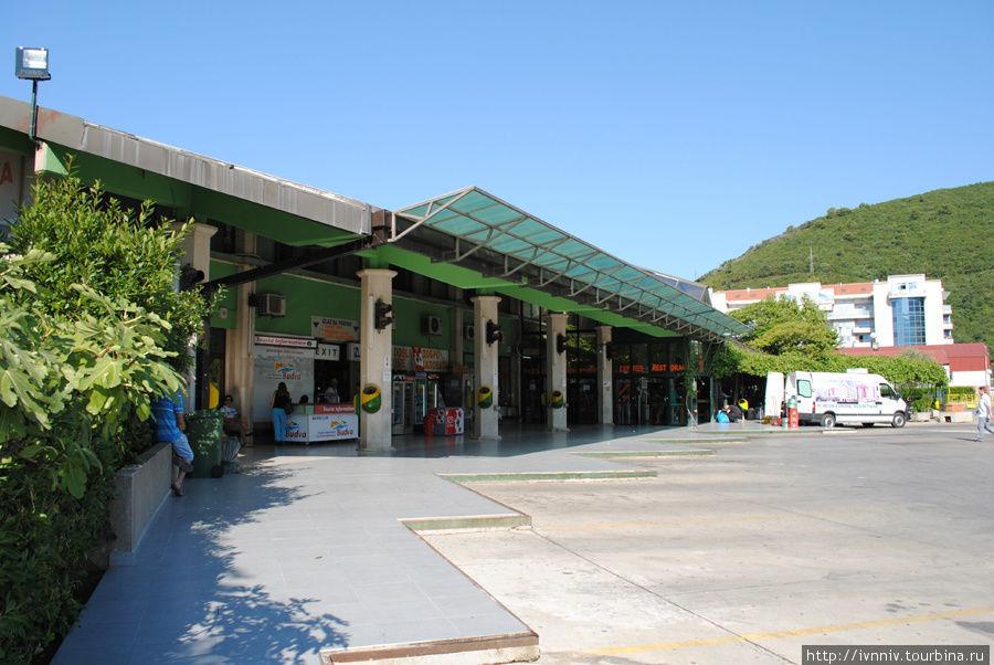автовокзал г.Будва