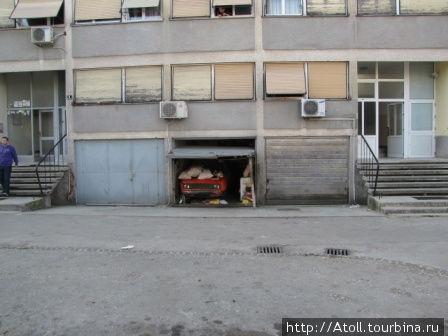 Припарковался навечно.