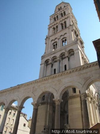 Башня дворца Диоклетиана