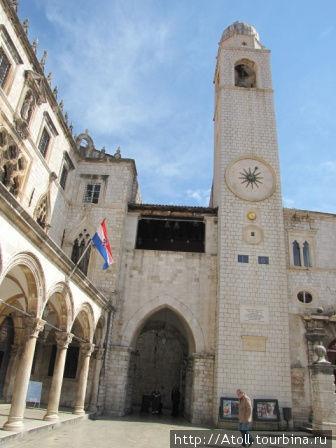 Башня в Старом Дубровнике.
