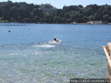 Очередной заплыв.