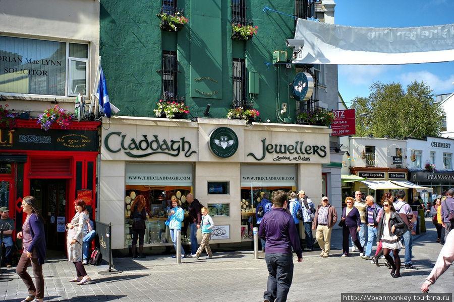 Ювелирный рай, просто громадное количество магазинов Голуэй, Ирландия