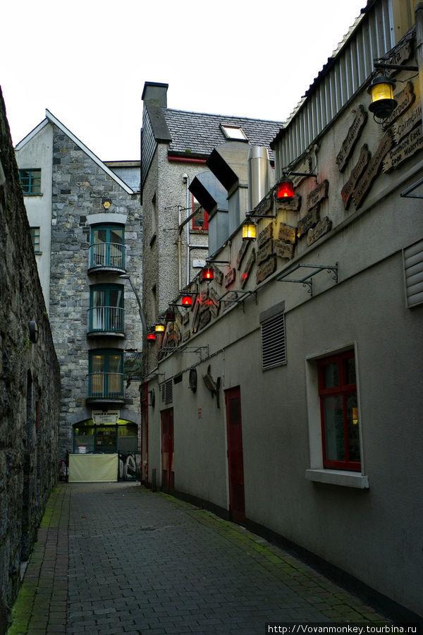 Переулок Kirwan's Lane Голуэй, Ирландия