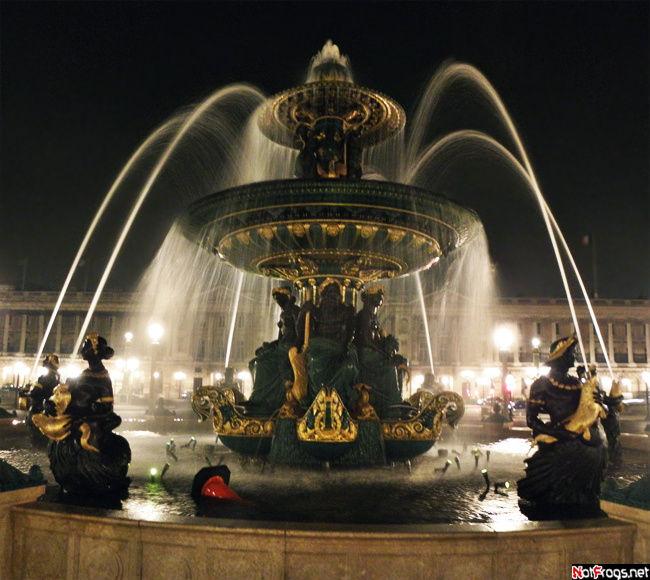 Потрясающий фонтан