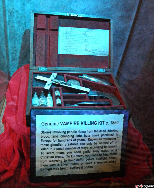 Да-да, это оружие собирались всерьез использовать против вампиров!
