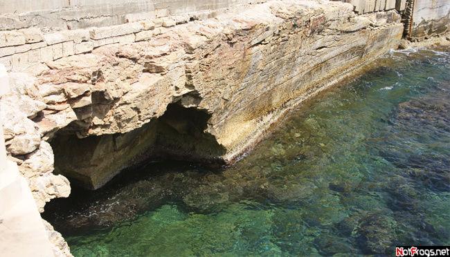 Первое фото, сделанное на Мальте