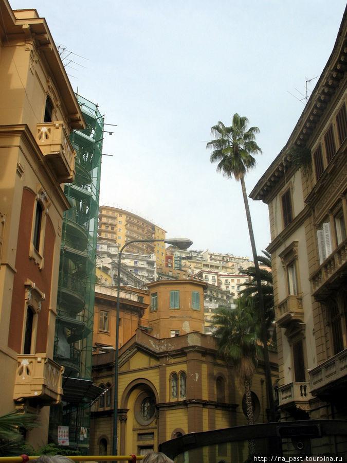 Городской пейзаж Неаполя