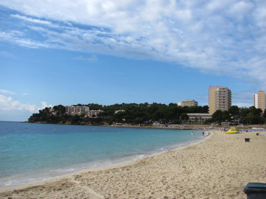 золотисто-белые пляж Магалуф