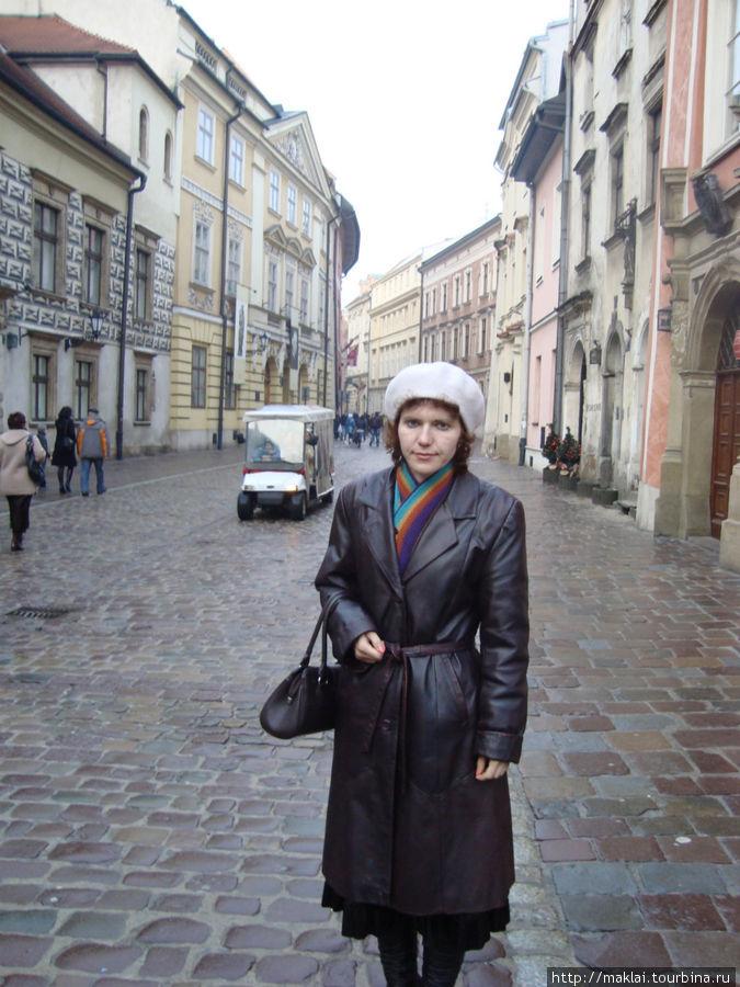 Краков. На улице Канонича.