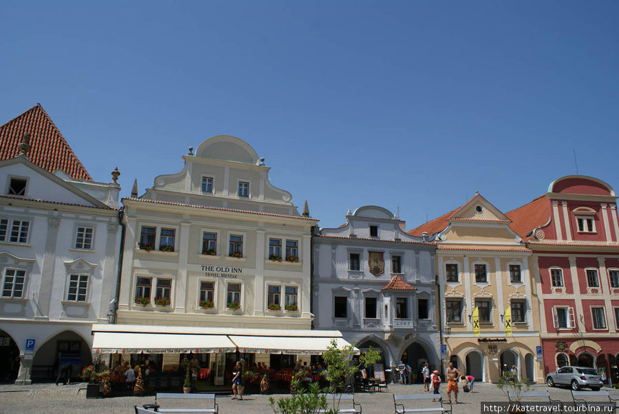 Дома на площади Согласия