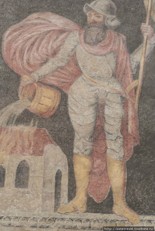 Настенный образ Святого Ф